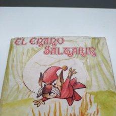 Discos de vinilo: EL ENANO SALTARÍN + 4 CUENTOS VINILOS. Lote 240624200