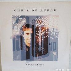 Discos de vinilo: LP / CHRIS DE BURGH - POWER OF TEN, 1992 UK. Lote 240627525