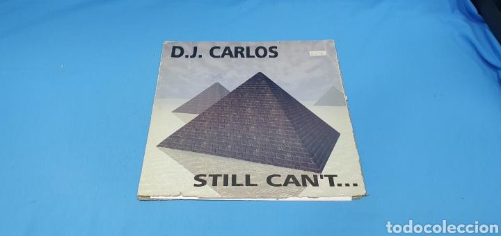 DISCO DE VINILO - STILL CAN'T... D.J. CARLOS (Música - Discos de Vinilo - Maxi Singles - Pop - Rock Internacional de los 90 a la actualidad)
