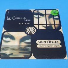 Discos de vinilo: DISCO DE VINILO - VERTICE - LOVE IN YOUR EYES. Lote 240629140