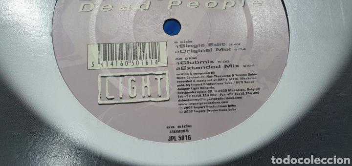 Discos de vinilo: DISCO DE VINILO - DA BOY TOMMY - DEAD PEOPLE - Foto 2 - 240630895