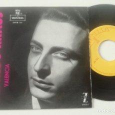 Discos de vinilo: ALFREDO KRAUS - VALENCIA - EP MONTILLA 1959. Lote 240638425