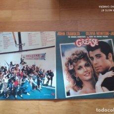 Disques de vinyle: GREASE - BANDA SONORA ORIGINAL - JOHN TRAVOLTA & OLIVIA NEWTON-JOHN - DOBLE LP VINILO 1978. Lote 240641980