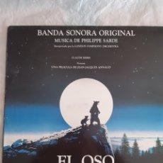 Discos de vinilo: LP BSO EL OSO (NUEVO). Lote 240643300