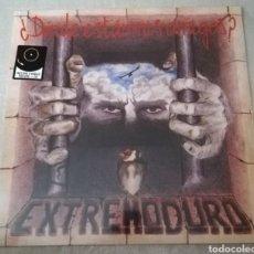 Discos de vinilo: DISCO VINILO + CD EXTREMODURO-¿DONDE ESTÁN MIS AMIGOS?. Lote 240647260