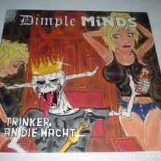 Discos de vinilo: LP DIMPLE MINDS - TRINKER AND DIE MACHT. Lote 240650005