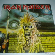 Discos de vinilo: LP IRON MAIDEN - IRON MAIDEN. Lote 240654010