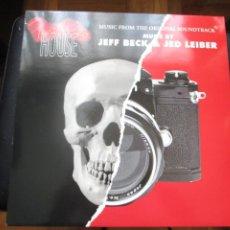 Discos de vinilo: JEFF BECK & JED LEIBER. FRANKIE'S HOUSE (MUSIC FROM THE ORIGINAL SOUNDTRACK). LP (1992). Lote 240649190