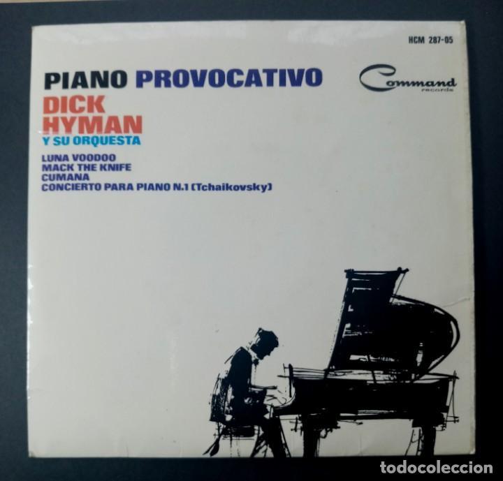 DICK HYMAN - LUNA VOODOO - EP 1965 - COMMAND (Música - Discos de Vinilo - EPs - Jazz, Jazz-Rock, Blues y R&B)