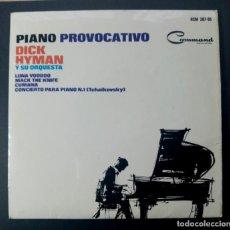 Discos de vinilo: DICK HYMAN - LUNA VOODOO - EP 1965 - COMMAND. Lote 240664065