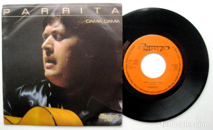 PARRITA - DAMA, DAMA - SINGLE OLYMPO 1982 PROMO BPY (Música - Discos - Singles Vinilo - Flamenco, Canción española y Cuplé)