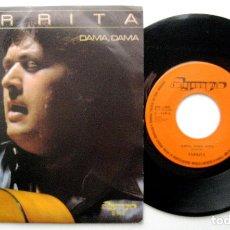 Discos de vinilo: PARRITA - DAMA, DAMA - SINGLE OLYMPO 1982 PROMO BPY. Lote 240669160