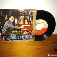 Discos de vinilo: EP BRUNO ROSETTANI - TU SEI DEL MIO PAESE + 3 - DURIUM (ITALIA). Lote 240687920