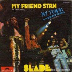 Discos de vinilo: SLADE – MY FRIEND STAN / MY TOWN. Lote 240694830
