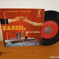 Discos de vinilo: EP NUEVO ESTILO PARA BAILAR - EL HUMO CIEGA TUS OJOS + 3 - ZAFIRO (1961). Lote 240704255