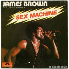 Discos de vinilo: JAMES BROWN ‎– SEX MACHINE (GET UP I FEEL LIKE BEING LIKE A). Lote 240704500
