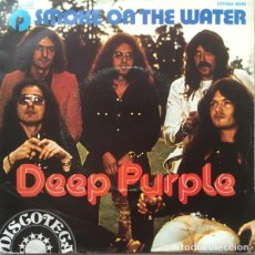 Discos de vinilo: DEEP PURPLE – SMOKE ON THE WATER. Lote 240706005