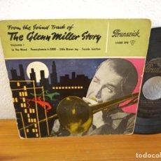 Discos de vinilo: EP GLENN MILLER STORY- IN THE MOOD + 3 - BRUNSWICK. Lote 240707550