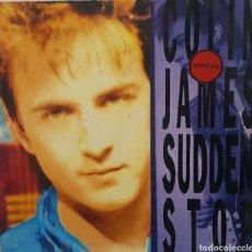 Discos de vinilo: LP / COLIN JAMES - SUDDEN STOP, 1990. Lote 240709775