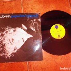 Discos de vinilo: MADONNA PAPA DON'T PREACH MAXI SINGLE VINILO DEL AÑO 1986 ESPAÑA CONTIENE 3 TEMAS. Lote 240721105