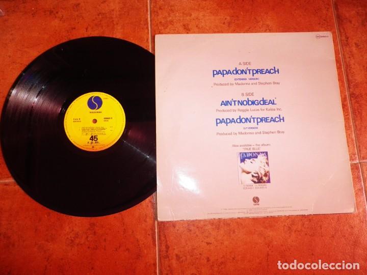 Discos de vinilo: MADONNA Papa dont preach MAXI SINGLE VINILO DEL AÑO 1986 ESPAÑA CONTIENE 3 TEMAS - Foto 2 - 240721105