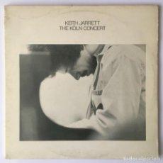Discos de vinilo: KEITJ JARRETT. THE KÖLN CONCERT. NUEVOS MEDIOS, 1975. Lote 240721600