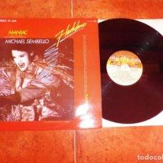 Dischi in vinile: MICHAEL SEMBELLO MANIAC BANDA SONORA FLASHDANCE MAXI SINGLE VINILO 1983 ESPAÑA CONTIENE 2 TEMAS. Lote 240722030
