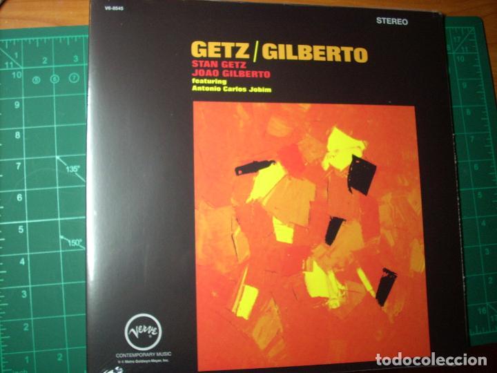 STAN GETZ / JOAO GILBERTO - FEATURING ANTONIO CARLOS JOBIM – GETZ / GILBERTO - VERVE- NUEVO -SEALED (Música - Discos - LP Vinilo - Jazz, Jazz-Rock, Blues y R&B)