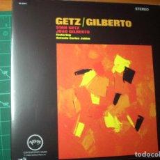 Discos de vinilo: STAN GETZ / JOAO GILBERTO - FEATURING ANTONIO CARLOS JOBIM – GETZ / GILBERTO - VERVE- NUEVO -SEALED. Lote 240724065