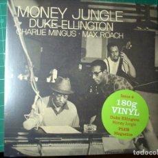 Discos de vinilo: MONEY JUNGLE- DUKE ELLINGTON - CHARLES MINGUS - MAX ROACH - NUEVO -SEALED. Lote 240724520