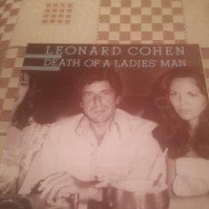 Disques de vinyle: LEONARD COHEN.DEATH OF A LADIES' MAN.CBS 32661.REEDICIÓN ESPAÑOLA 1985.VINILO NUEVO.. Lote 240733595