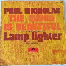 Discos de vinilo: PAUL NICHOLAS - THE WORD IS BEAUTIFUL POLYDOR - 1973. Lote 240771935