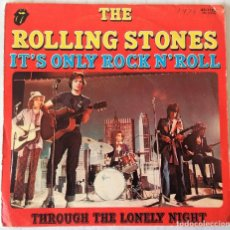 Discos de vinilo: THE ROLLING STONES - IT´S ONLY ROCK N´ ROLL ROLL. STONES - 1974. Lote 240779790