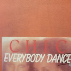 Disques de vinyle: CHIC. EVERYBODY DANCE.. Lote 240782915