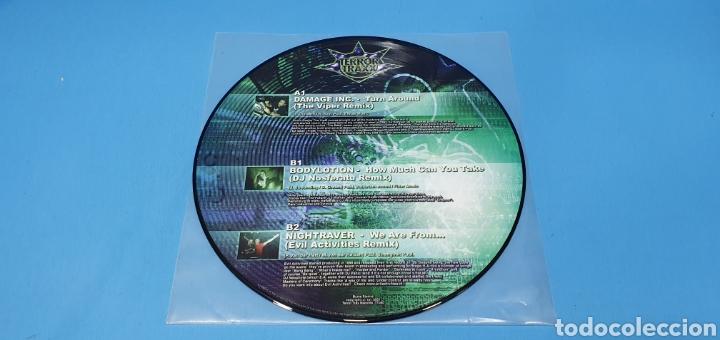 Discos de vinilo: DISCO DE VINILO - TERROR TRAXX - THE REMIX PROJECT - VOL I - Foto 2 - 240783800