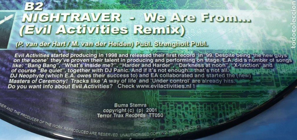 Discos de vinilo: DISCO DE VINILO - TERROR TRAXX - THE REMIX PROJECT - VOL I - Foto 3 - 240783800