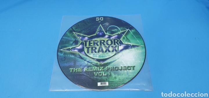 DISCO DE VINILO - TERROR TRAXX - THE REMIX PROJECT - VOL I (Música - Discos de Vinilo - Maxi Singles - Pop - Rock Internacional de los 90 a la actualidad)