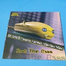 Discos de vinilo: DISCO DE VINILO - ROCK THE BASS - DI CARLI PRESENTS PUMPING CORPORATION. Lote 240785185