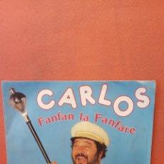 Disques de vinyle: CARLOS. FANFAN LA FANFARE. Lote 240785250