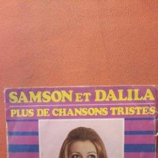 Disques de vinyle: SHEILA. SAMSON ET DALILA.. Lote 240786100