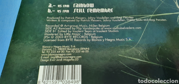 Discos de vinilo: DISCO DE VINILO - TYFOON - RAINBOW - STILL REMEMBER - Foto 4 - 240787315