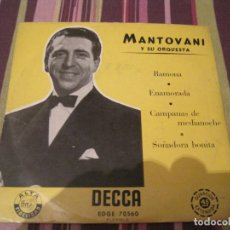 Discos de vinilo: EP MANTOVANI RAMONA DECCA 70560 SPAIN. Lote 240787725