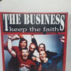 Discos de vinil: THE BUSINESS. KEEP THE FAITH. CENTURY MEDIA. LP 1994.. Lote 240788355