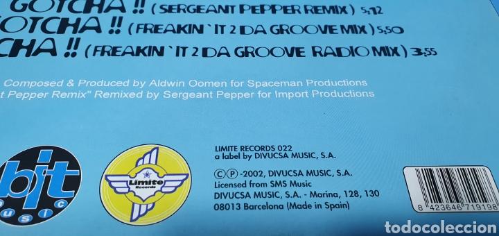 Discos de vinilo: DISCO DE VINILO - DOWN Z EARTH - GOTCHA !! - Foto 5 - 240791005