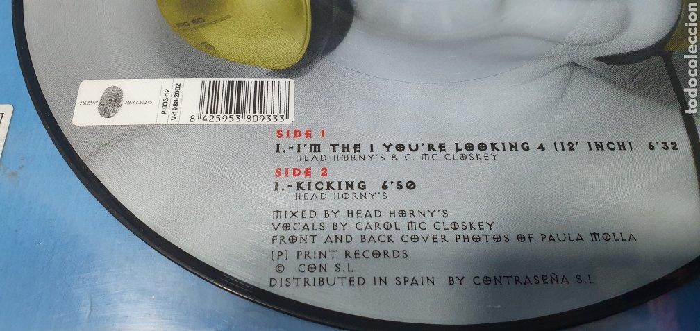 Discos de vinilo: DISCO DE VINILO - HEAD HIRNYS - IM THE 1 YOURE LOOKING 4 - Foto 4 - 240796805