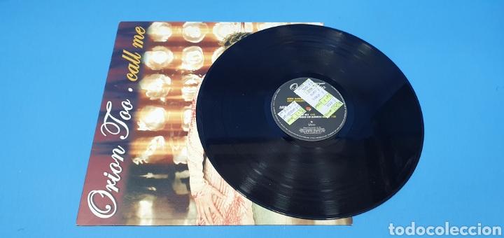Discos de vinilo: DISCO DE VINILO - ORION TOO - CALL ME - Foto 2 - 240799450