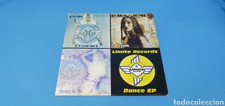 DISCO DE VINILO - LIMITE RECORDS - DANCE EP (Música - Discos de Vinilo - Maxi Singles - Pop - Rock Internacional de los 90 a la actualidad)