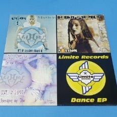 Discos de vinilo: DISCO DE VINILO - LIMITE RECORDS - DANCE EP. Lote 240800805