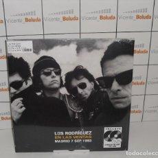 Discos de vinilo: LOS RODRÍGUEZ EN LAS VENTAS (2 LPS + DVD + CD) [VINILO] NUEVO Y PRECINTADO ENVIÓ CERTIFICADO 3 €. Lote 263282395