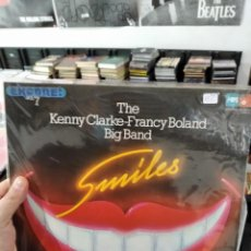 Discos de vinilo: LP DOBLE KENNY CLARKE FRANCY BOLAND BIG BAND SMILES VG++. Lote 240819255